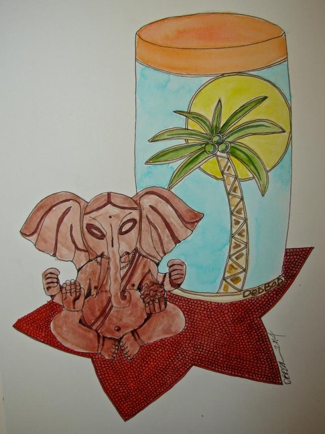 W14 2 Sketch Ganesha 2