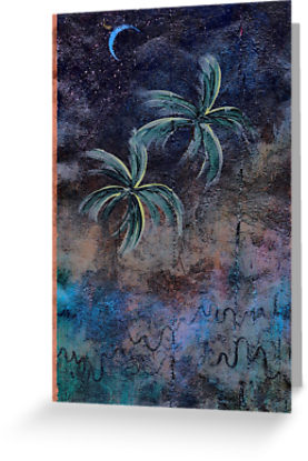 PALMS ON BARK BLUE NIGHT papergc,441x415,w,ffffff.2u4