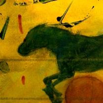 RUNNING HORSE RED BALL DTL1920 copy
