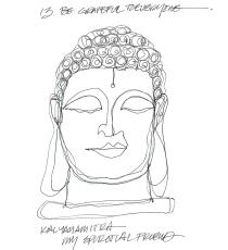 W14 7 25 BUDDHA HEAD