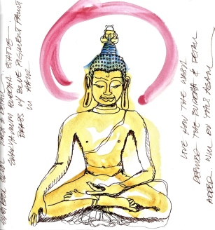W14 7 8 ONE DAY 300dpi WASH INK BUDDHA
