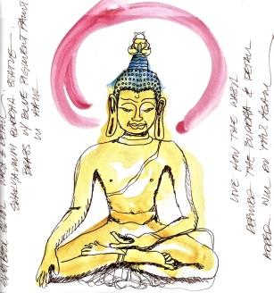 W14 7 8 ONE DAY 300dpi WASH INK BUDDHA