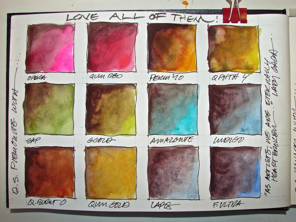 Color Mixing Four Primatek Colors D Katie Powell Art