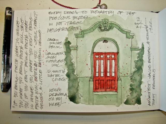 W14 12 LS MONASTERY PRESCIOUS BLOOD DOORS 3