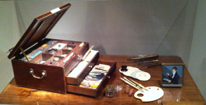 Miniature Portrait Painter's Box