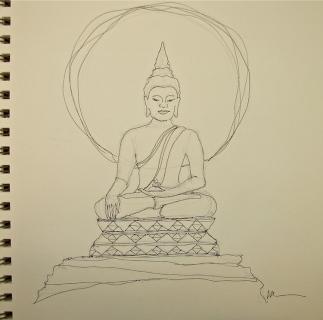 W15 3 4 THAI BUDDHA 001