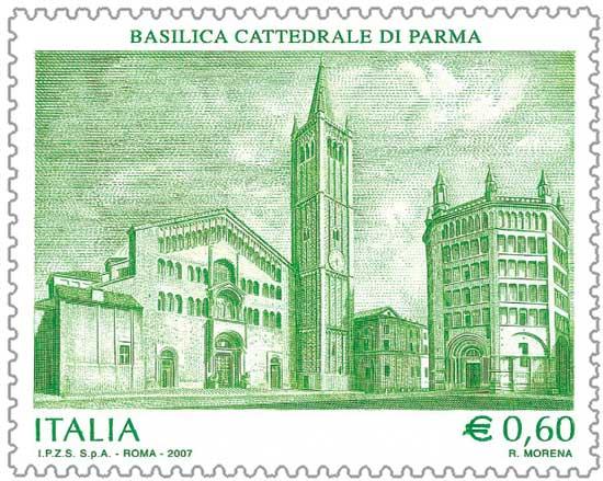 Duomo_di_Parma_francobollo