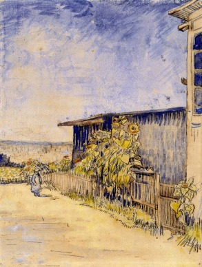 shed-with-sunflowers-1887