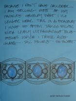 W16 5 13 BI BLUE GLASS BRACELET 01