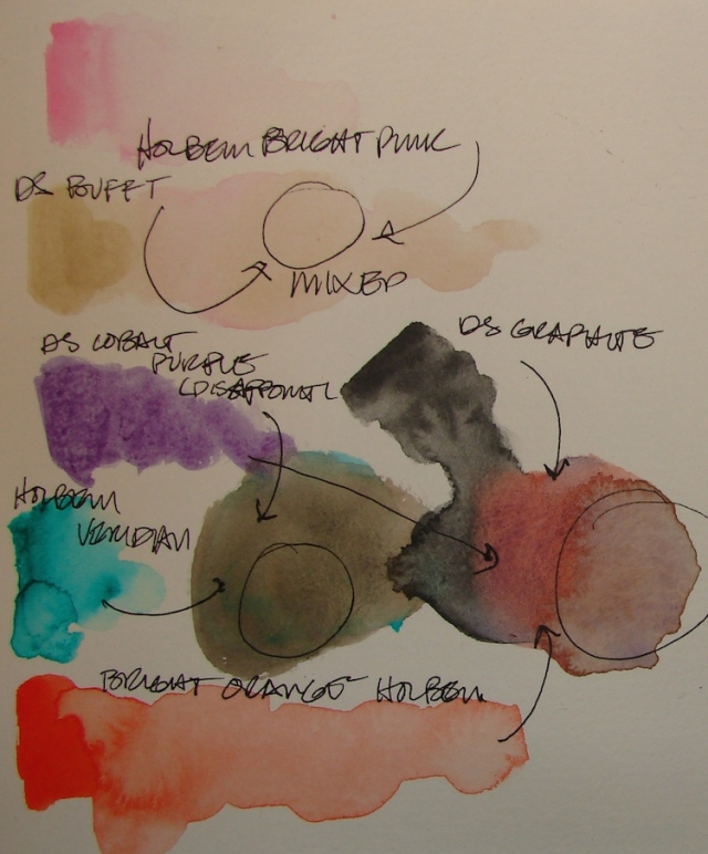 w16 mixing paints