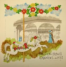 W16 8 RO Jantzen Carousel Floral 032