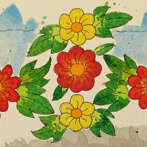 W16 8 RO Jantzen Carousel Floral 042 SQ