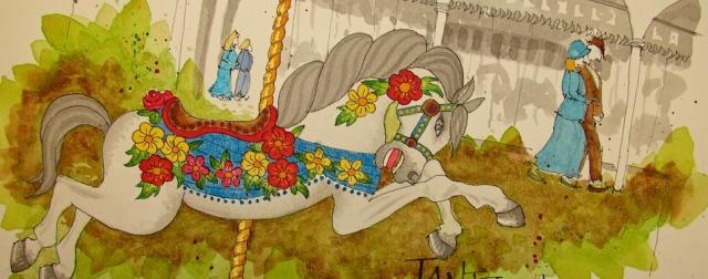 W16 8 RO Jantzen Carousel Floral 054