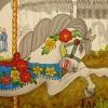 W16 8 RO Jantzen Carousel Floral 055 SQ SM