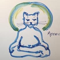 W17 4 24 NOST MEDITATING CAT 01