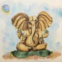 W16 Ganesha Moon-1010159 SQ