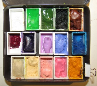 My painted ladies palette -- for Victorian homes.