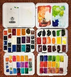 Da Vinci and MGraham/Schminke palettes.