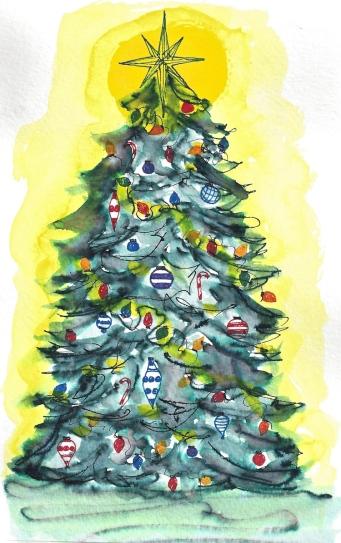 W16 12 19 PENTALIC XMAS TREE