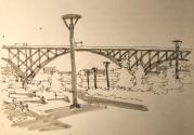 W18 10 2 NOST USK ROSS ISLAND BRIDGE-4399