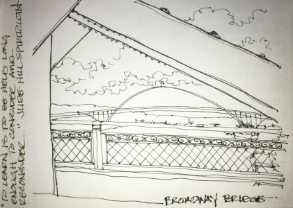 W18 9 11 NOST USK BROADWAY BRIDGE-3783