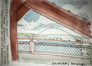W18 9 11 NOST USK BROADWAY BRIDGE-4207