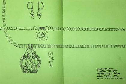 W19 3 2 BI GREEN TARA-0407