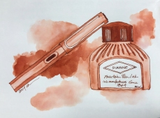 W19 6 9 NOST DIAMINE ANCIENT COPPER INK-5147