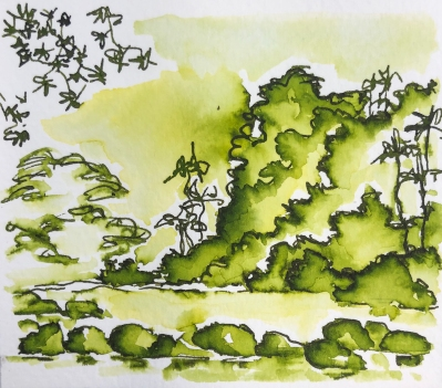 W19 INK KRISHNA GHAT GREEN-4427