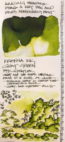 W19 INK KRISHNA GHAT GREEN-4455