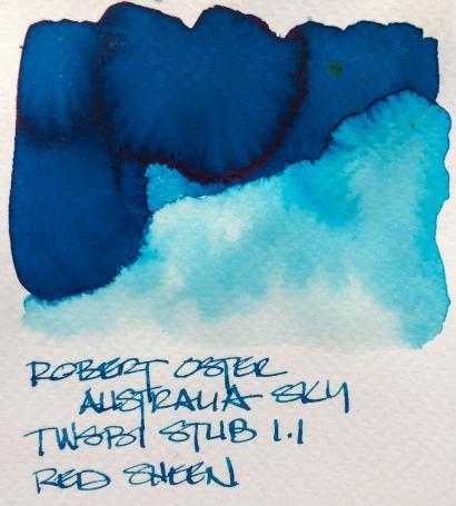 W19 9 INK ROBERT OSTER AUSTRALIA SKY-7134
