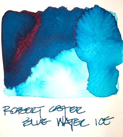 W19 9 INK ROBERT OSTER BLUE WATER ICE-7122
