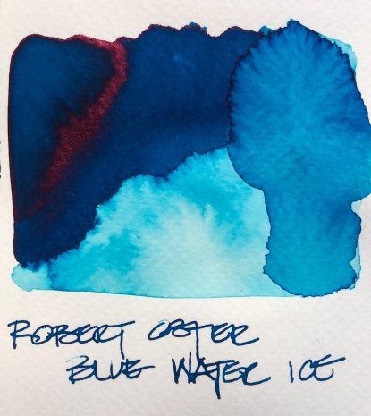 W19 9 INK ROBERT OSTER BLUE WATER ICE-7124