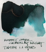 W19 9 INK ROBERT OSTER GREEN AT NIGHT-7096