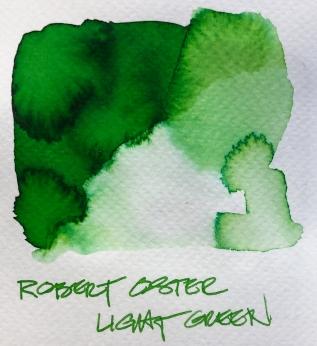 W19 9 INK ROBERT OSTER LIGHT GREEN-7082