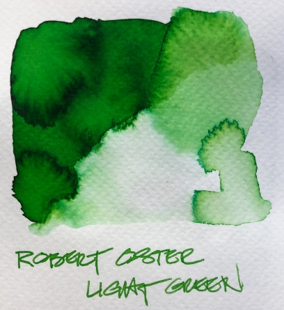 W19 9 INK ROBERT OSTER LIGHT GREEN-7082