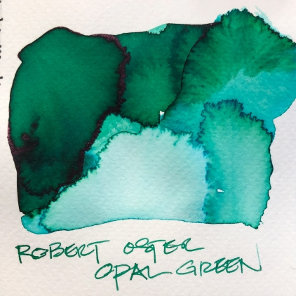 W19 9 INK ROBERT OSTER OPAL GREEN-7068