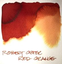 W19 9 INK ROBERT OSTER RED ORANGE-7279