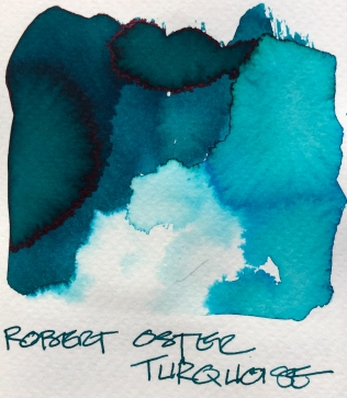 W19 9 INK ROBERT OSTER TURQUOISE-7106