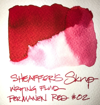 W19 11 INK SHAEFFER'S SKRIP RED 02-2114