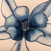 W19 6 14 NOST INK POSIE CELESTIAL BLUE-5442 SQ