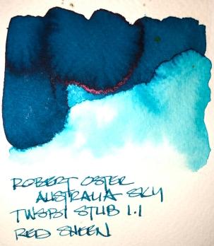 W19 9 INK ROBERT OSTER AUSTRALIA SKY 7136