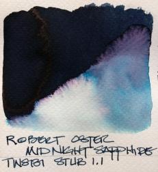 W19 9 INK ROBERT OSTER MIDNIGHT SAPPHIRE-7110