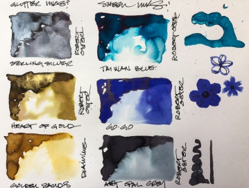 W20 1 25 NOST BOTTLE SHIMMER INKS-3838