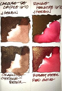 W20 7 10 SHIMMER INK BROWN RED-0108