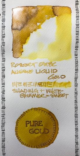 W20 7 ROBERT OSTER AUSSIE LIQUID GOLD INK-0358