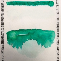 W20 7 ROBERT OSTER EMERALD INK-1275 SQ