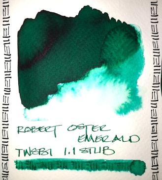 W20 7 ROBERT OSTER EMERALD INK-1327