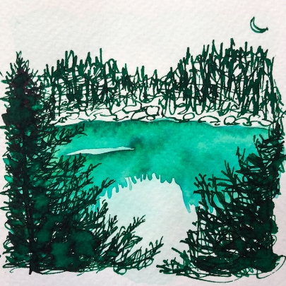 W20 7 ROBERT OSTER EMERALD INK-1333 SQ