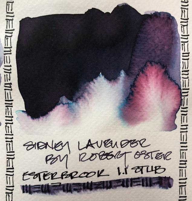 W20 7 ROBERT OSTER SYDNEY LAVENDER INK-1373